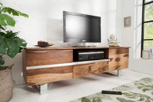 Luxusný TV stolík Massive S 160 cm sheesham