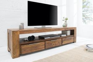 Luxusný TV stolík Timber masív 170 cm
