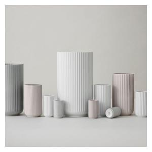 LYNGBY Porcelánová váza Vase White 15 cm