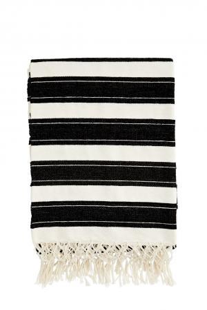 MADAM STOLTZ Prehoz Black and White 130x170