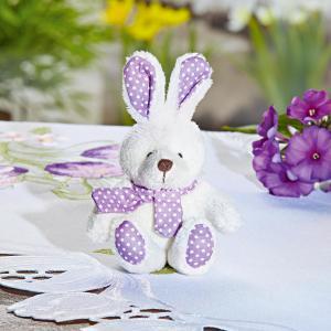 Magnet 3Pagen Plyšový zajac lila