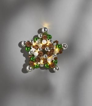 Magnet 3Pagen Vianočný veniec