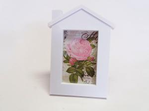 MAKRO - Fotorámik domček na foto 15x10 cm