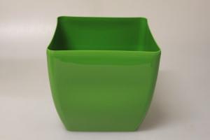 MAKRO - Kvetináč hranatý COUBI 24cm zelený