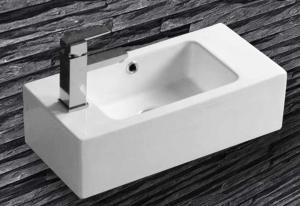 Malé hranaté umývadlo Joist