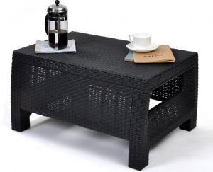 Malý kávový stolík KAREN Farba: antracitová