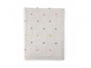 MAMAS & PAPAS - Pletená deka bodkovaná