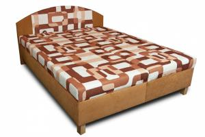Manželská čalúnená polohovacia posteľ Vilma