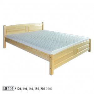 Manželská masívna posteľ LK 104 S160