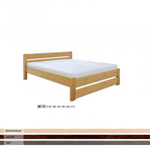 Manželská masívna posteľ LK 190 S120