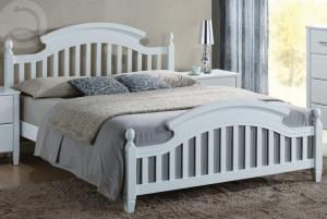 Manželská posteľ 140 cm Lizbona (s roštom)