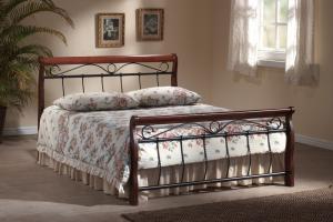 Manželská posteľ 140 cm Venecja B (s roštom)