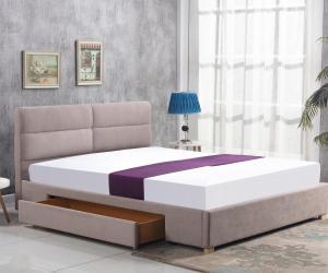 Manželská posteľ 160 cm - Halmar - Merida (béžová) (s roštom). Sme autorizovaný predajca Halmar.