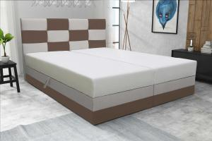 Manželská posteľ 160 cm - Marion (s roštom a matracom). Akcia -33%.