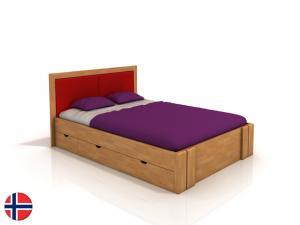 Manželská posteľ 160 cm - Naturlig - Manglerud High Drawers (buk) (s roštom). Doprava ZDARMA. Sme autorizovaný predajca Naturlig.