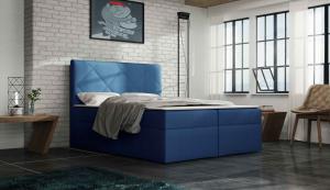 Manželská posteľ 160 cm - Octavius (s matracom). Akcia -34%