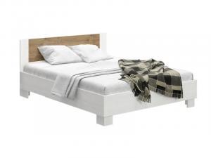 Manželská postel 160 cm - Renar - Markos (borovica anderson + dub) (s roštom). Sme autorizovaný predajca Renar.