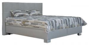 Manželská posteľ 180 cm - Blanár - Venus (sivá) (s roštami a matracmi Nelly Plus). Akcia -26%. Doprava ZDARMA. Sme autorizovaný predajca Blanár.