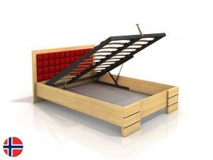 Manželská posteľ 180 cm - Naturlig - Storhamar High BC (borovica) (s roštom) Sme autorizovaný predajca Naturlig.