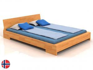 Manželská posteľ 200 cm - Naturlig - Lekanger (buk) (s roštom) Sme autorizovaný predajca Naturlig.