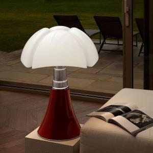 Martinelli Luce Martinelli Luce Pipistrello – stolná lampa červená