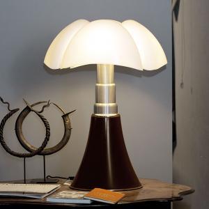 Martinelli Luce Martinelli Luce Pipistrello – stolná lampa, hnedá