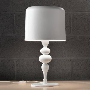 Masiero Stolová lampa Eva TL3+1G 75cm, biela