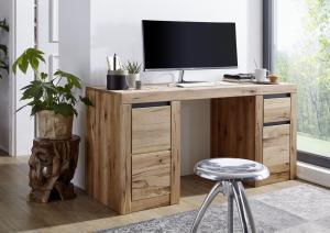 Masiv24 - VEVEY Písací stôl 150x50 cm, prírodná, dub