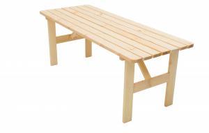 Masívny stôl z borovice drevo 30 mm (rôzne dĺžky) 180 cm