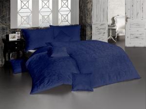 Matejovský DAMAŠKOVÉ obliečky Lolita navy modrá 140x200/70x90 cm