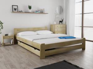 Maxi Drew Posteľ Laura 140 x 200 cm, borovica Rošt: Bez roštu, Matrac: bez matrace