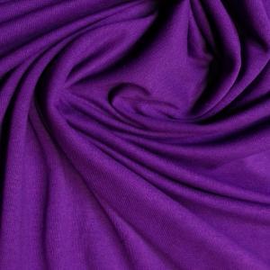 MAXMAX Bavlnené prestieradlo 200x90 cm - tmavo fialové