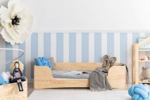 MAXMAX Detská dizajnová posteľ z masívu PEPE 4 - 190x80 cm
