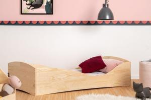 MAXMAX Detská dizajnová posteľ z masívu PEPE 5 - 200x90 cm