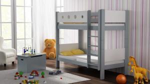 MAXMAX Detská poschodová posteľ TANY - 160x80 cm - 10 farieb