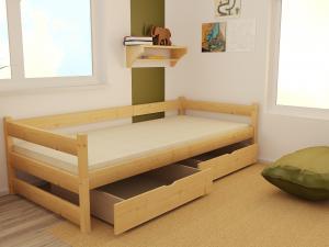 MAXMAX Detská posteľ z masívu 200x90 cm bez šuplíku - DP023