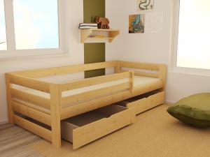 MAXMAX Detská posteľ z masívu 200x90 cm bez šuplíku - DP025