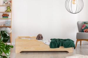 MAXMAX Detská posteľ z masívu BOX model 11 - 200x80 cm