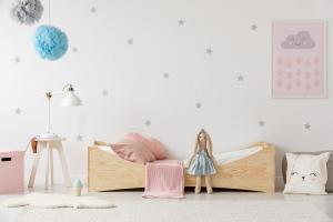 MAXMAX Detská posteľ z masívu BOX model 3 - 200x80 cm