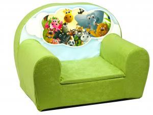 MAXMAX Detské kresielko SAFARI - zelené