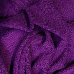 MAXMAX FROTÉ prestieradlo 200x140 cm - tmavo fialové