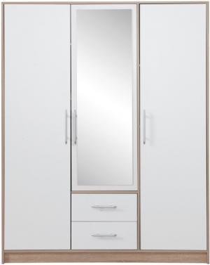 ME Šatníková skriňa Dekota S2 Variant: Bez zrkadla