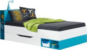 Meblar Detská posteľ Mobi MO18 (2 farby) Farba: Modrá