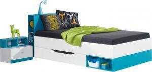 Meblar Detská posteľ Mobi MO18 (2 farby) Farba: Žltá
