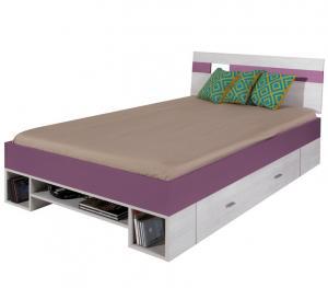 Meblar Detská posteľ Next NX18 Ľ/P Farba: Sivá