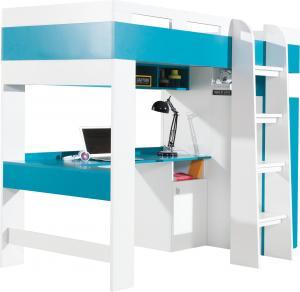 Meblar Poschodová posteľ Mobi MO20 (2 farby) Farba: Modrá