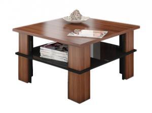 MEBLOCROSS Futura 1 konferenčný stolík slivka / čierna
