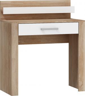 MEBLOCROSS Viki VIK-15 toaletný stolík sonoma svetlá / biela