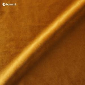 Medovožltá zamatová pohovka Ghado Esme, 176 cm