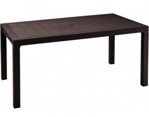 MELODY stôl - hnedý